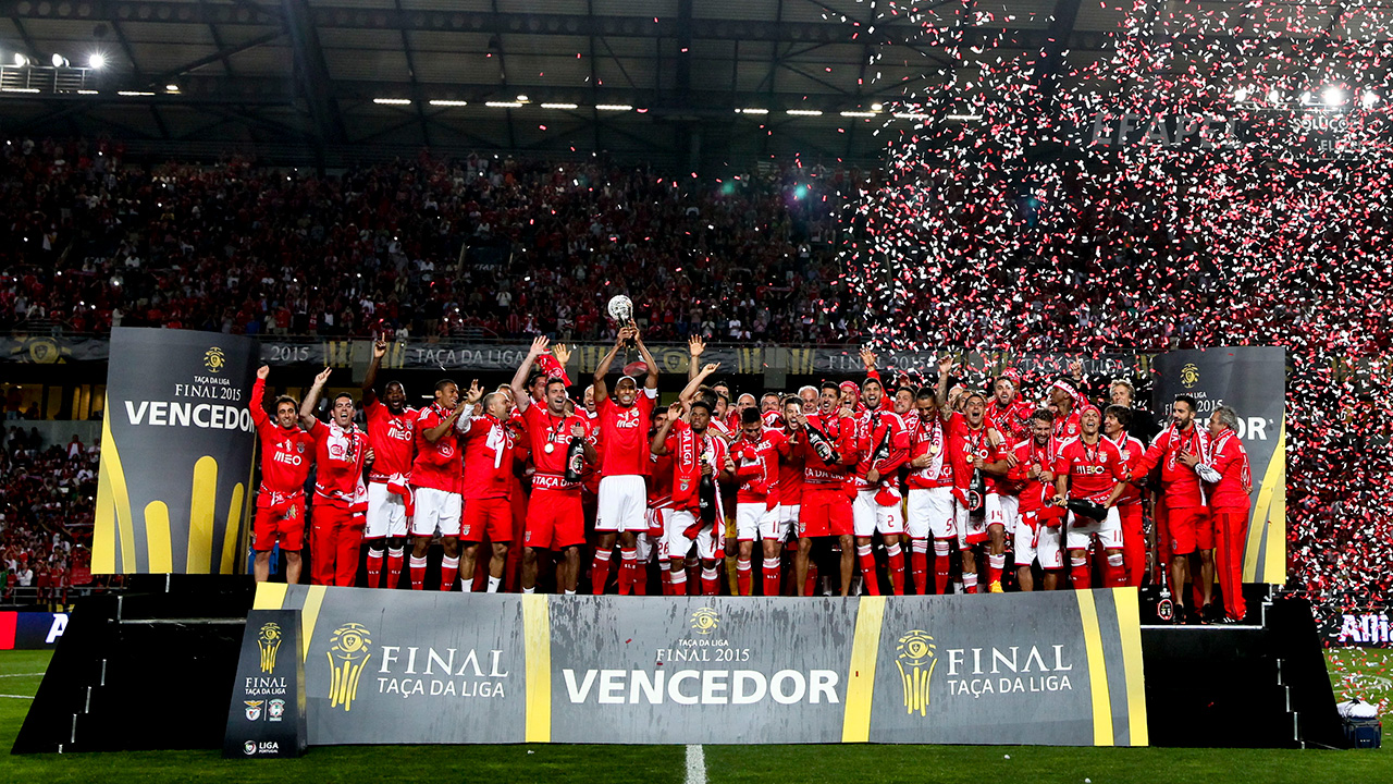 Benfica: Vencedor da Taça da Liga 2014/2015