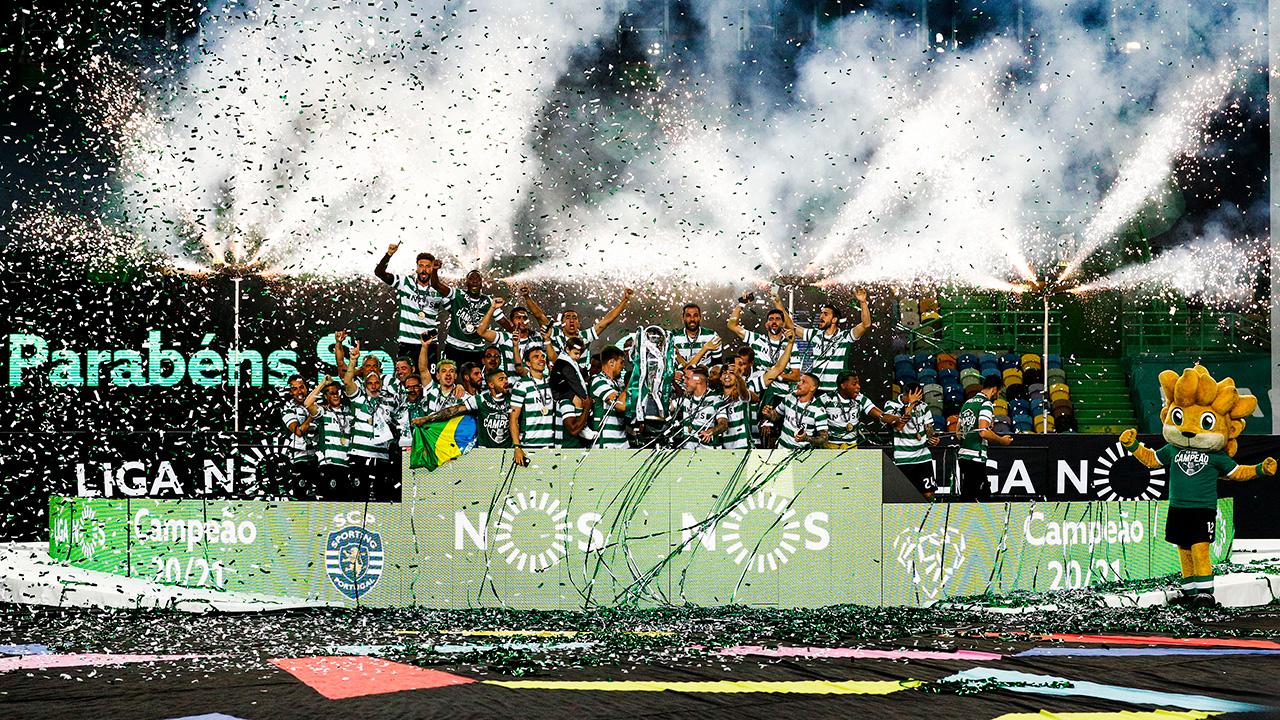 Já está! O Sporting é campeão nacional 2020/21!
