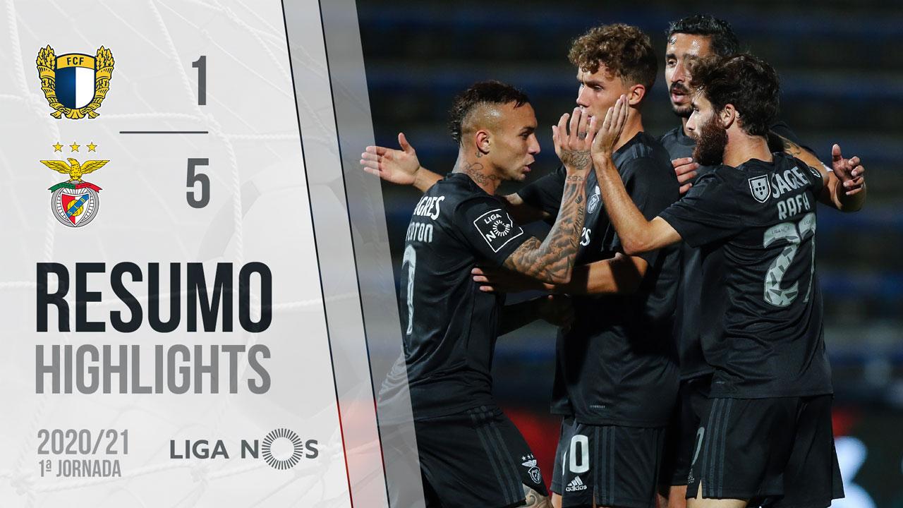 Benfica estreia-se na Liga com um goleada
